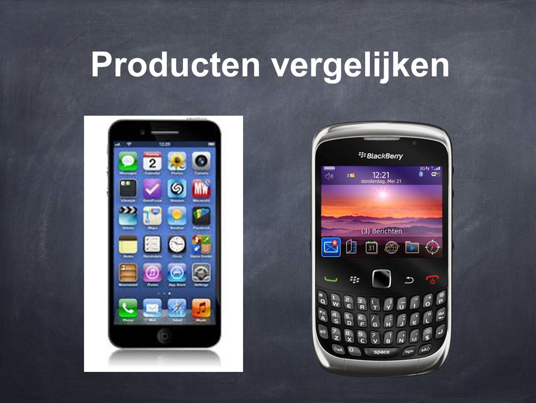 Producten vergelijken