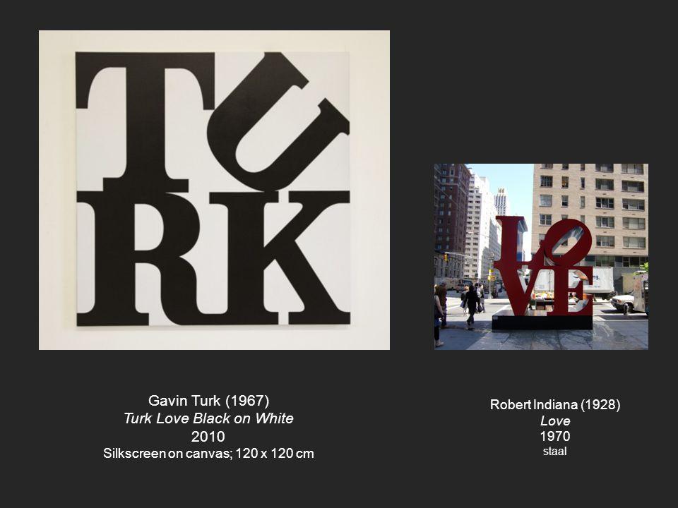 Turk Love Black on White 2010