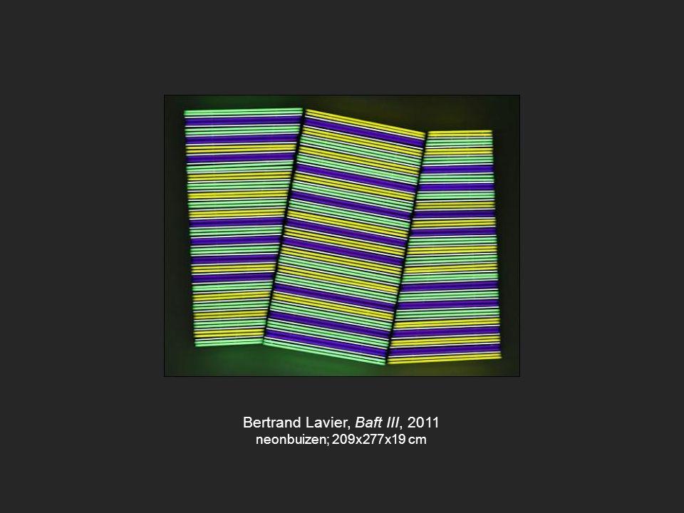 Bertrand Lavier, Baft III, 2011