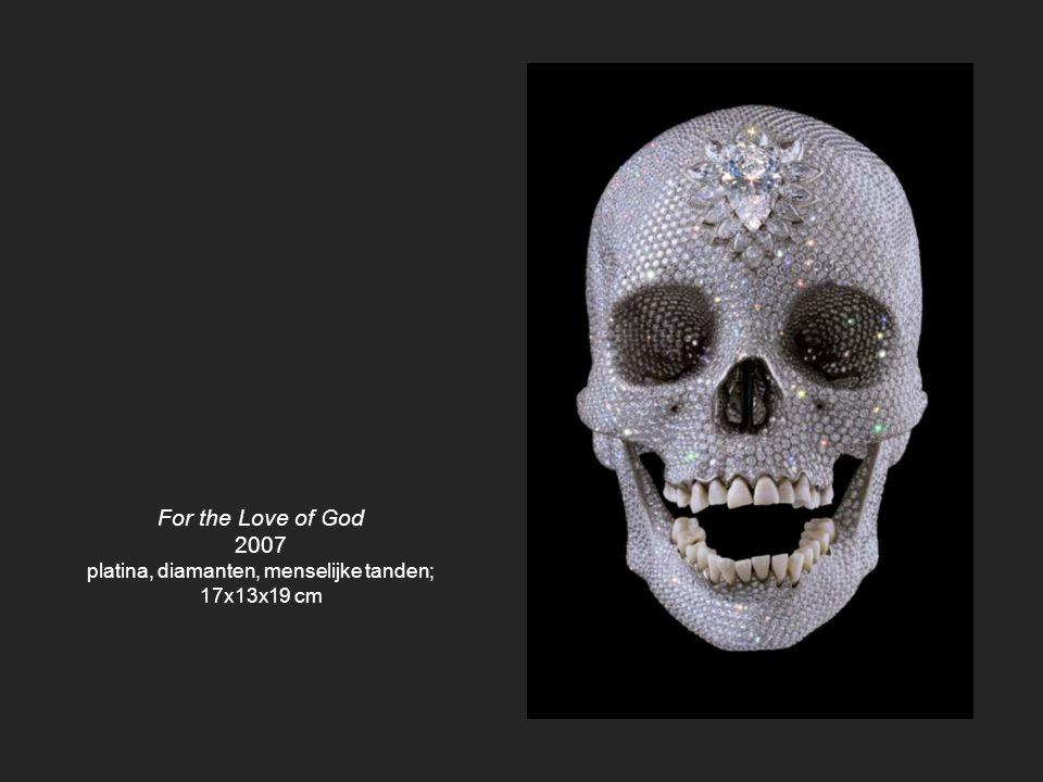 platina, diamanten, menselijke tanden;