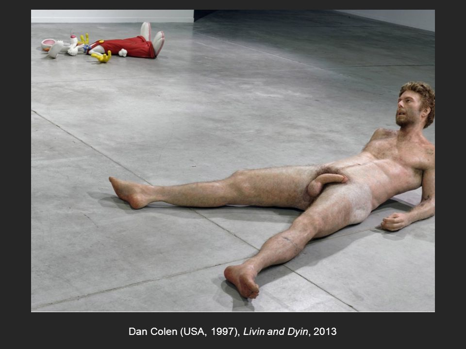 Dan Colen (USA, 1997), Livin and Dyin, 2013
