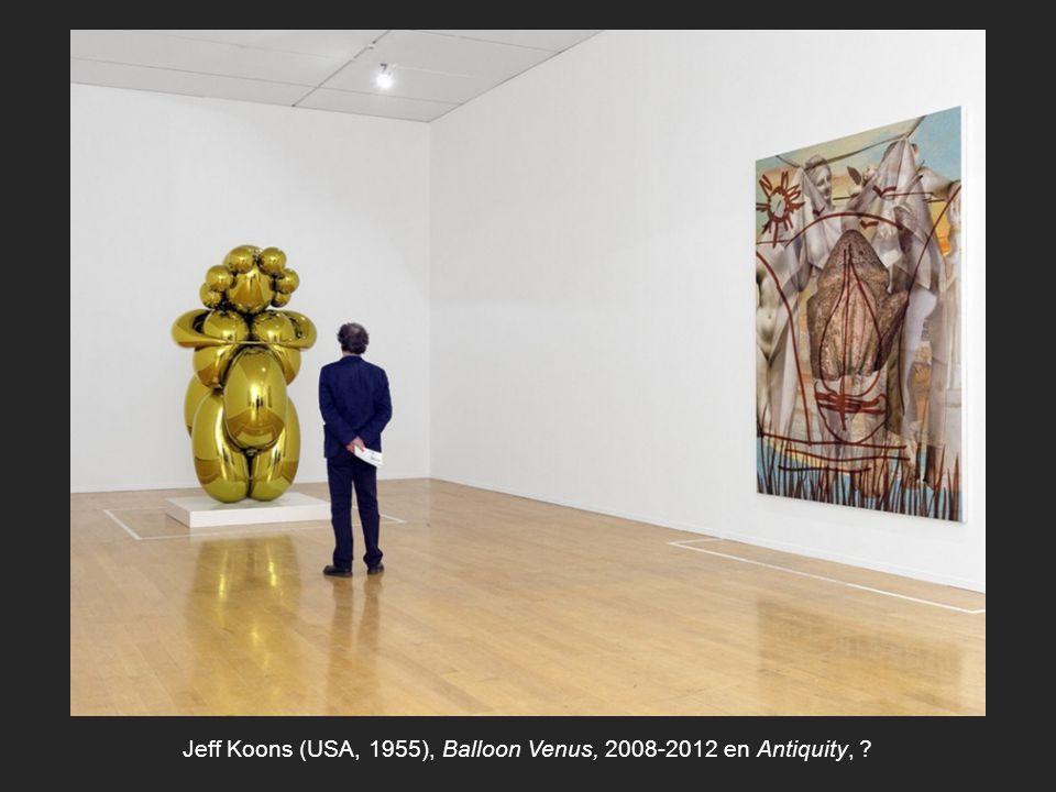 Jeff Koons (USA, 1955), Balloon Venus, 2008-2012 en Antiquity,