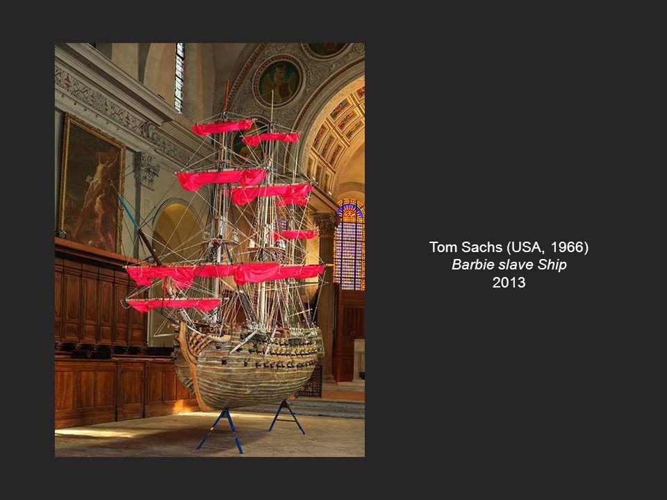 Tom Sachs (USA, 1966) Barbie slave Ship 2013