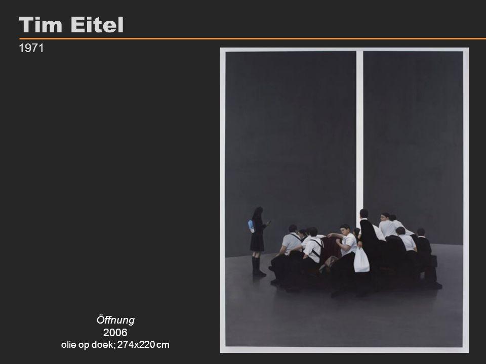 Tim Eitel 1971 Öffnung 2006 olie op doek; 274x220 cm
