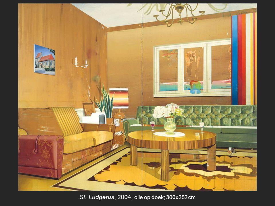 St. Ludgerus, 2004, olie op doek; 300x252 cm