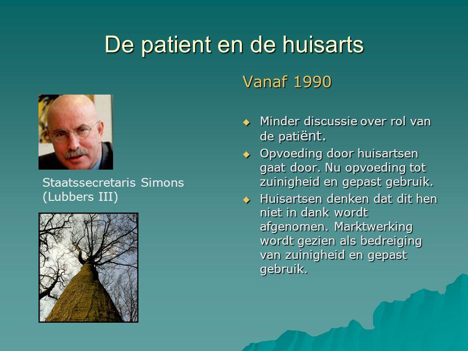 De patient en de huisarts