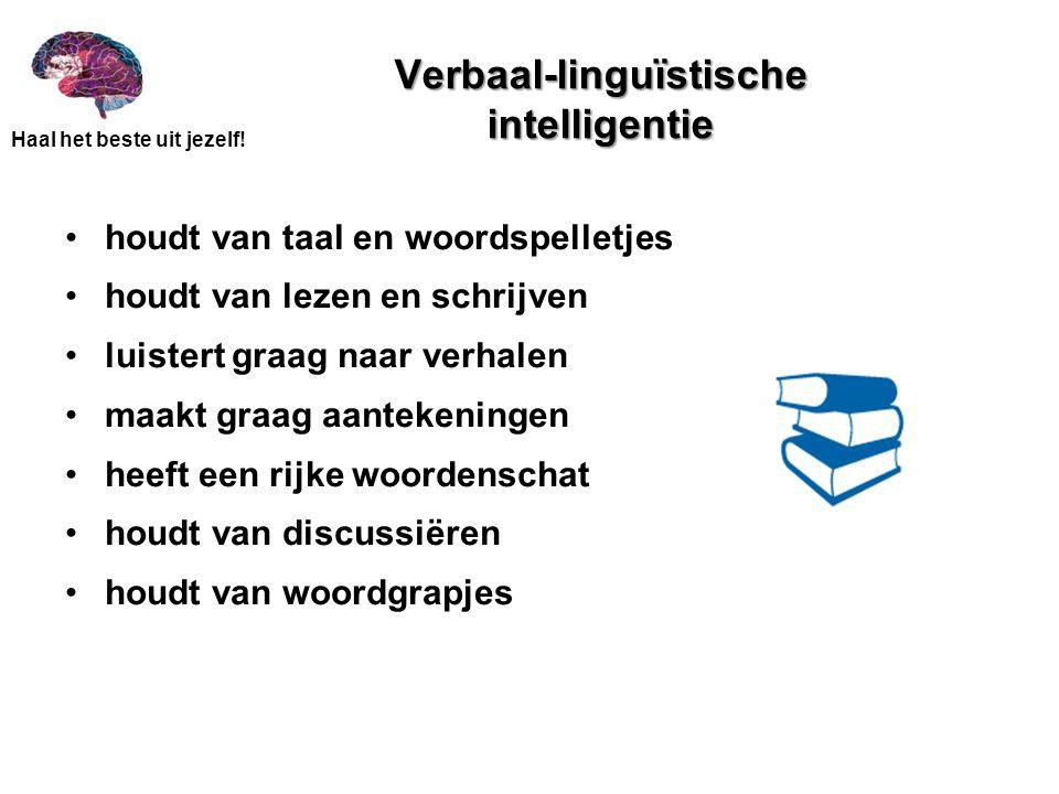 Verbaal-linguïstische intelligentie