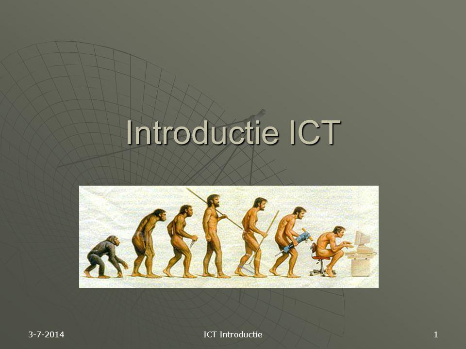 Introductie ICT 4-4-2017 ICT Introductie