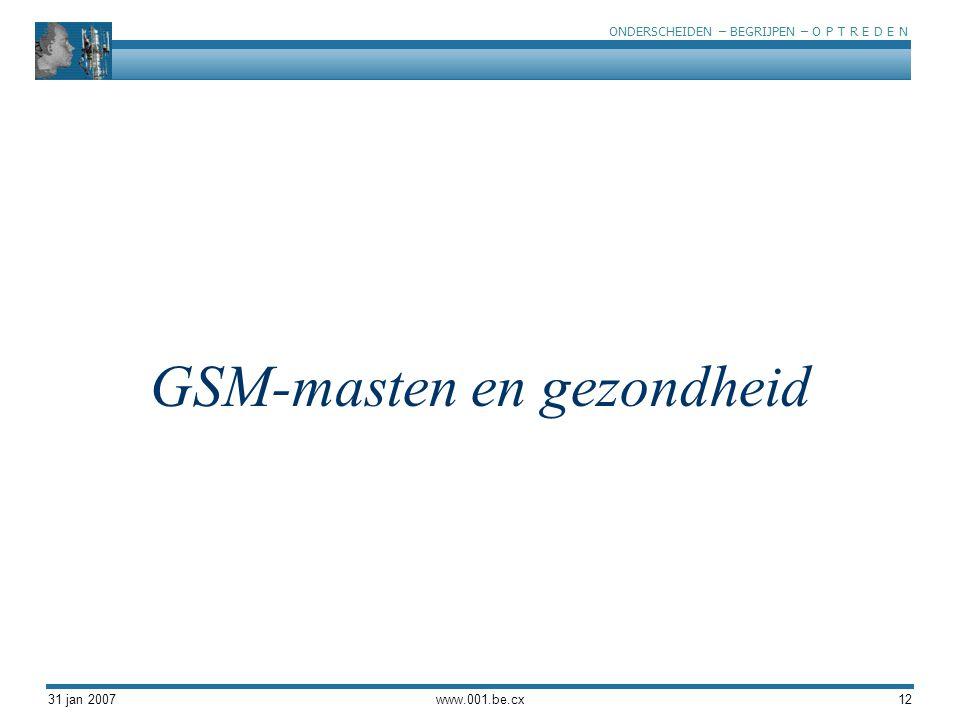 GSM-masten en gezondheid