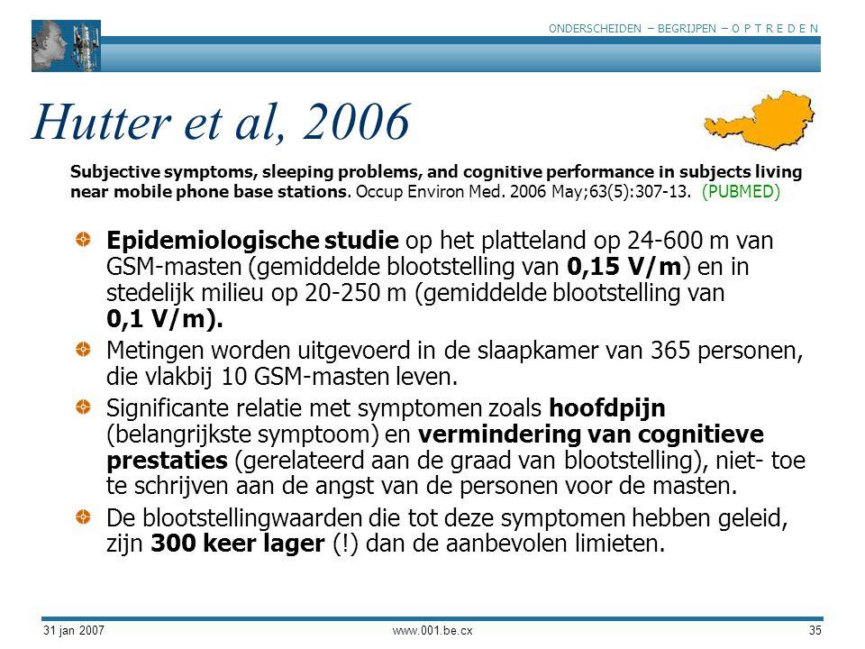 Hutter et al, 2006