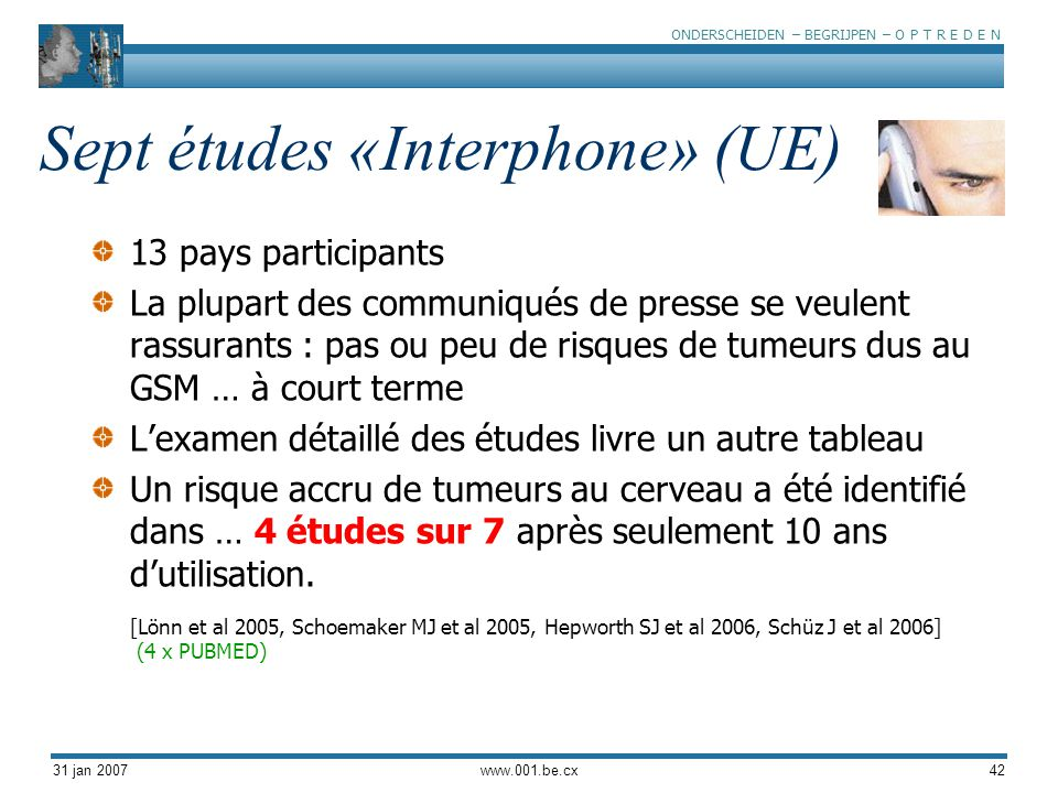 Sept études «Interphone» (UE)