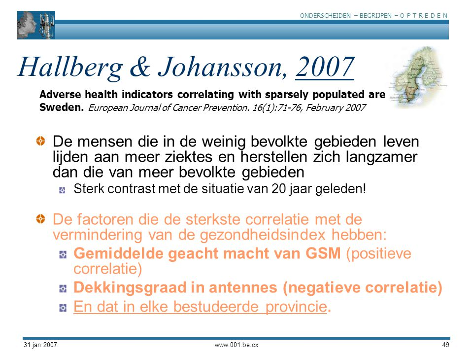 Hallberg & Johansson, 2007
