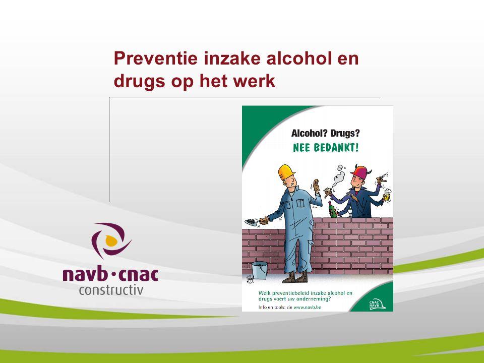 Preventie inzake alcohol en drugs op het werk