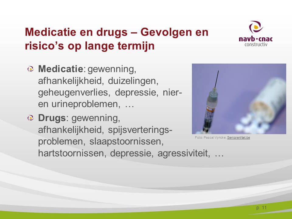Medicatie en drugs – Gevolgen en risico's op lange termijn