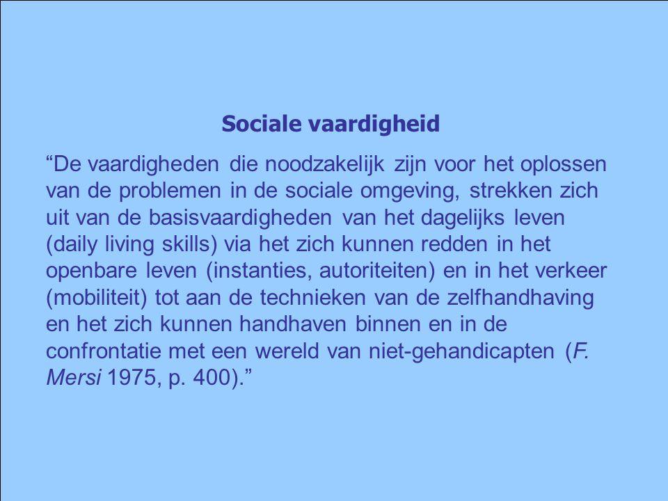 Sociale vaardigheid