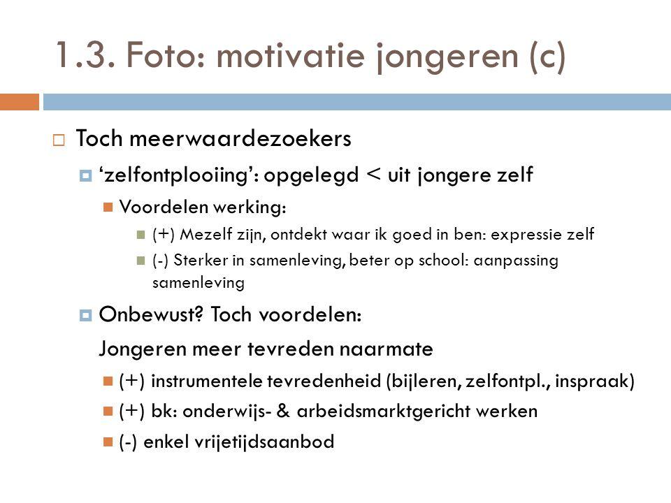 1.3. Foto: motivatie jongeren (c)
