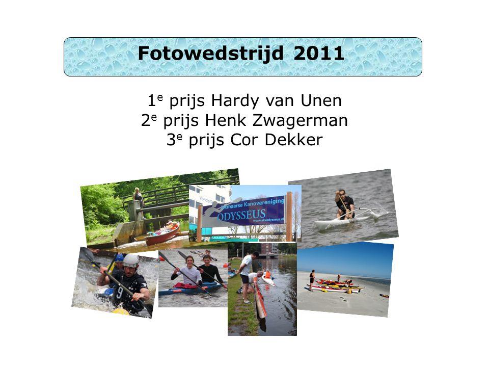 1e prijs Hardy van Unen 2e prijs Henk Zwagerman 3e prijs Cor Dekker
