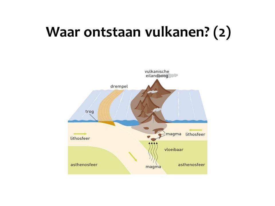 Waar ontstaan vulkanen (2)