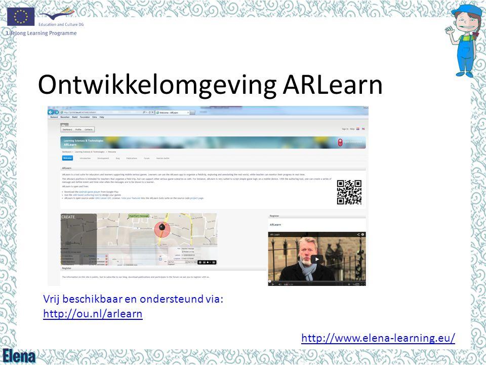 Ontwikkelomgeving ARLearn