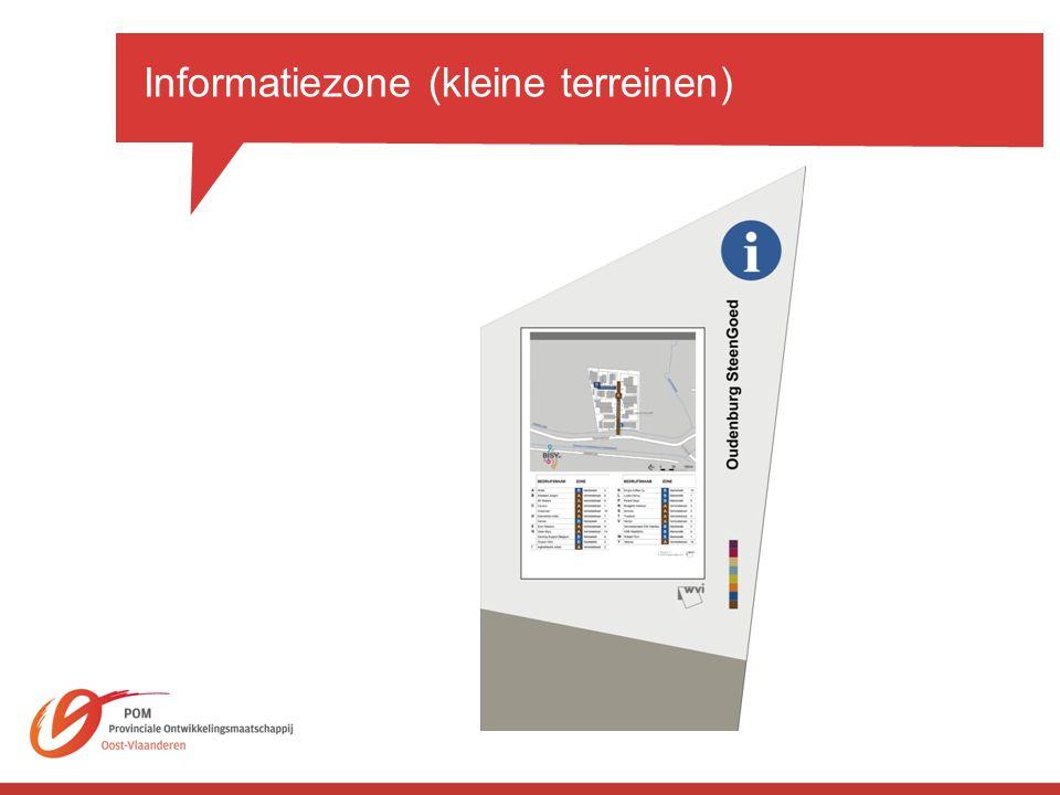 Informatiezone (kleine terreinen)