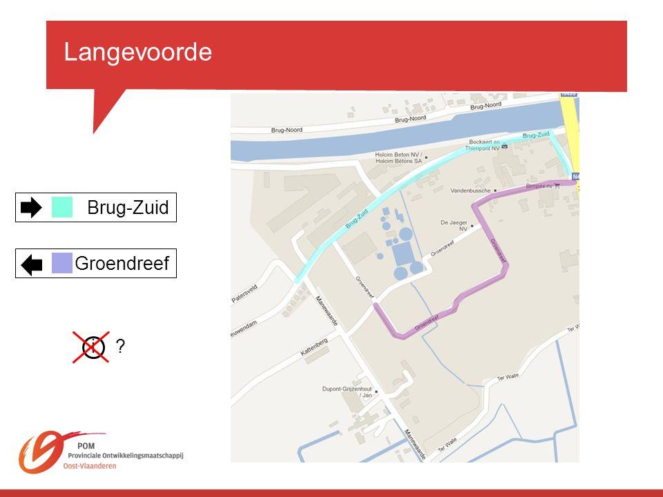 Langevoorde Brug-Zuid. Groendreef. i.