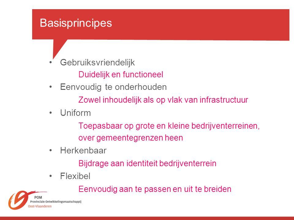 Basisprincipes Gebruiksvriendelijk Eenvoudig te onderhouden