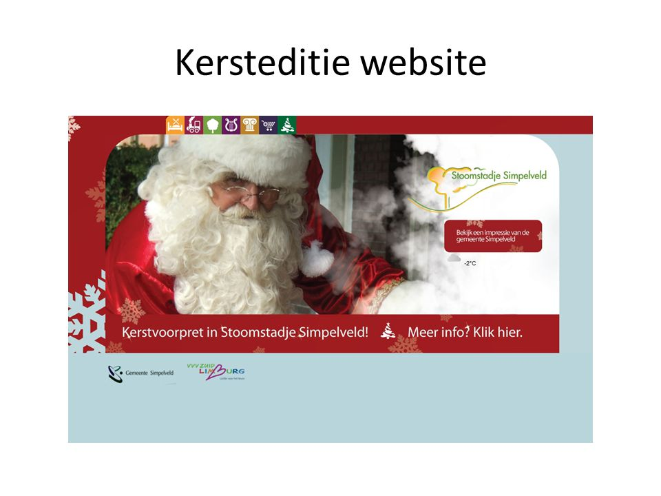 Kersteditie website