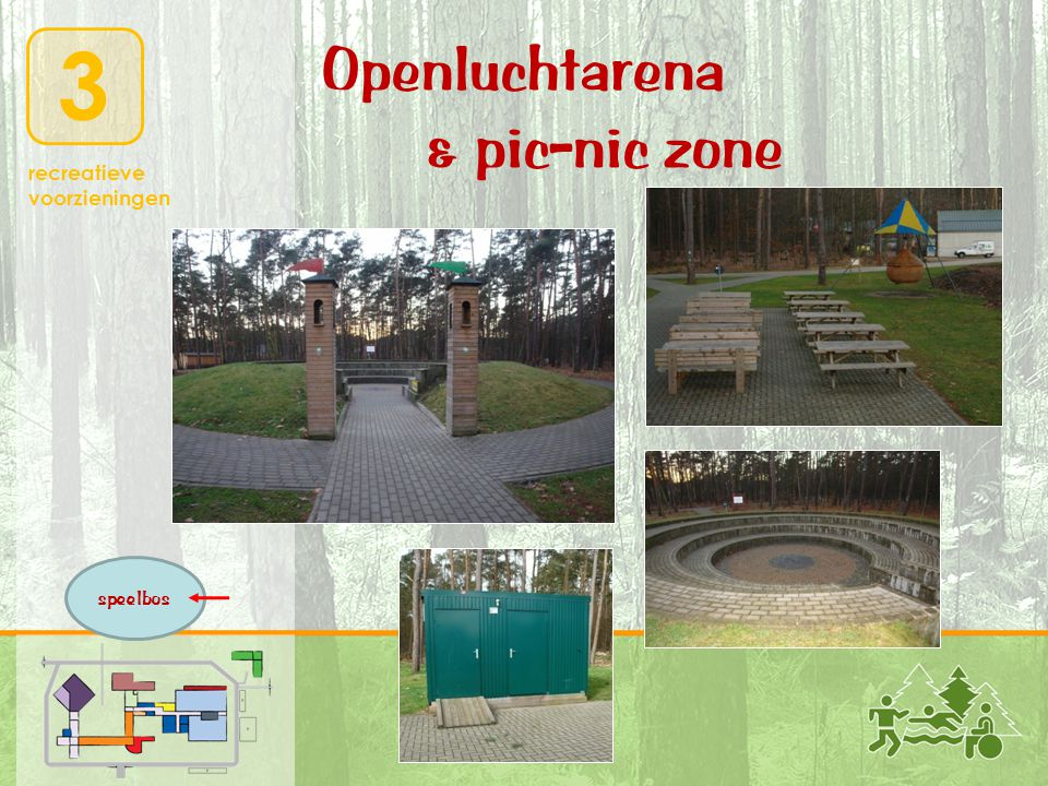 Openluchtarena & pic-nic zone