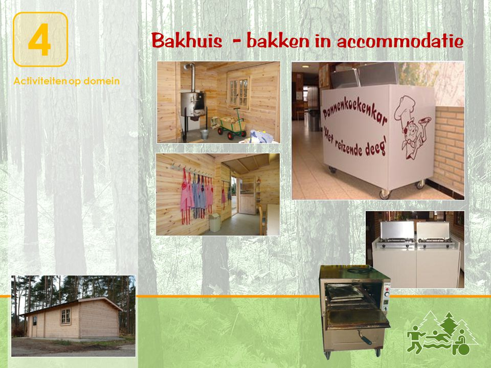 Bakhuis - bakken in accommodatie