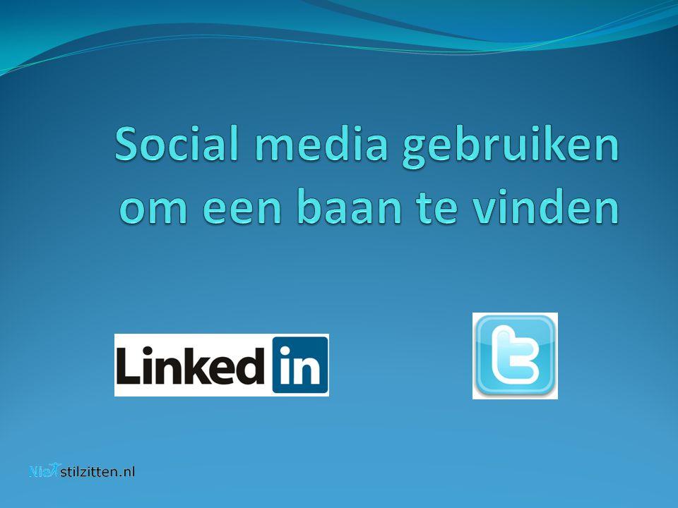 Social media gebruiken om een baan te vinden
