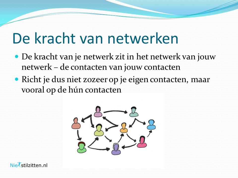 De kracht van netwerken