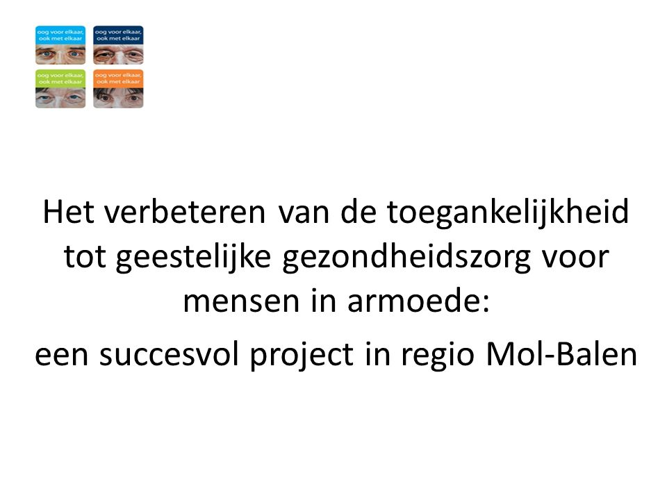 een succesvol project in regio Mol-Balen