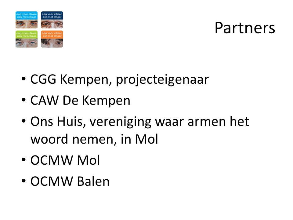 Partners CGG Kempen, projecteigenaar CAW De Kempen