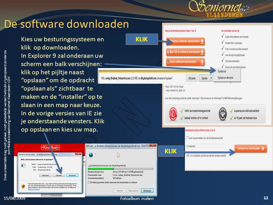 De software downloaden