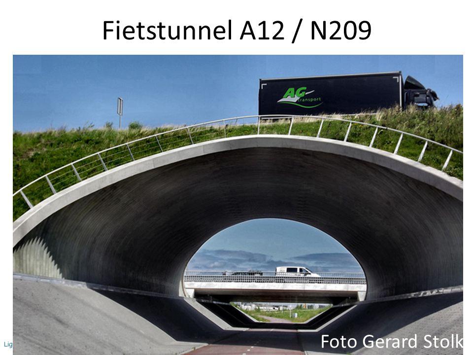 Fietstunnel A12 / N209 Foto Gerard Stolk