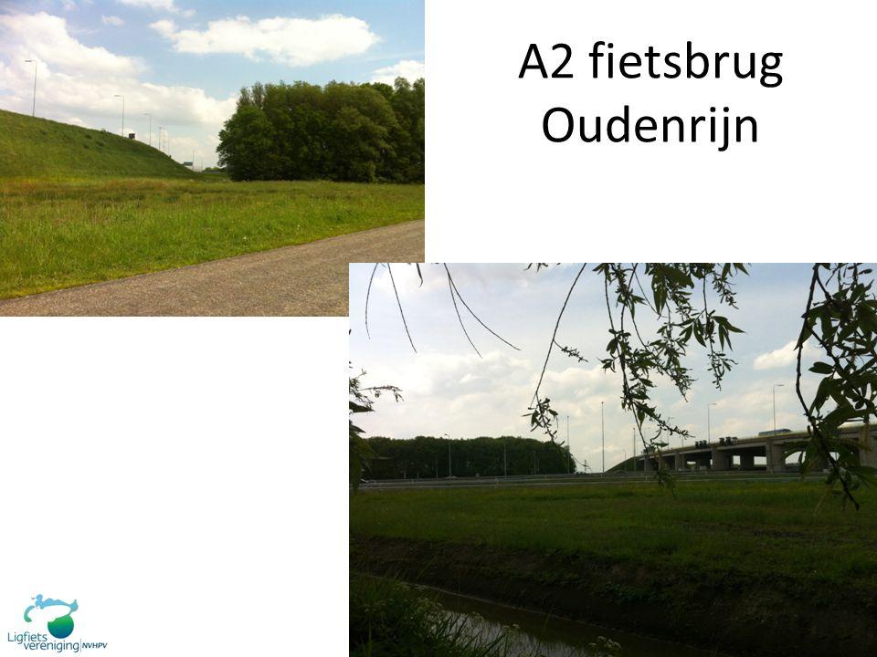 A2 fietsbrug Oudenrijn