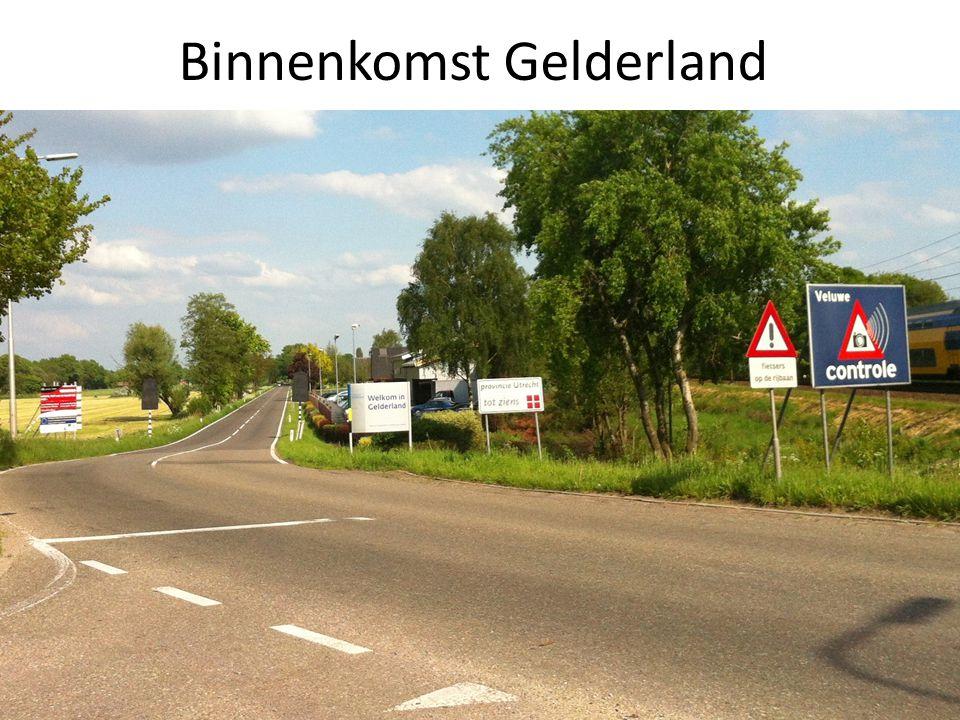 Binnenkomst Gelderland