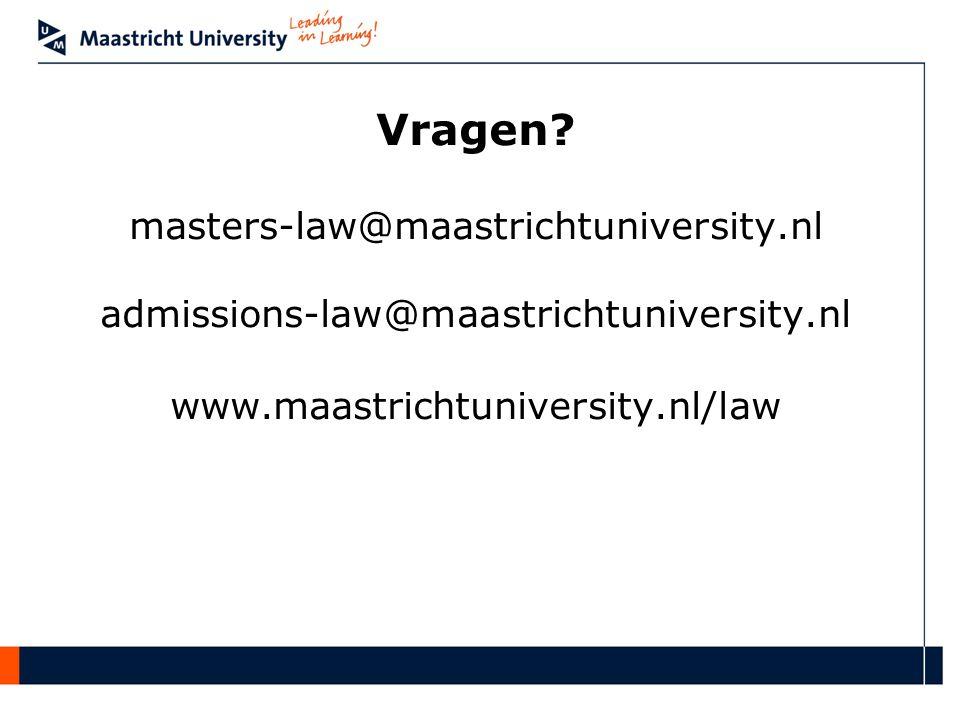 Vragen masters-law@maastrichtuniversity.nl