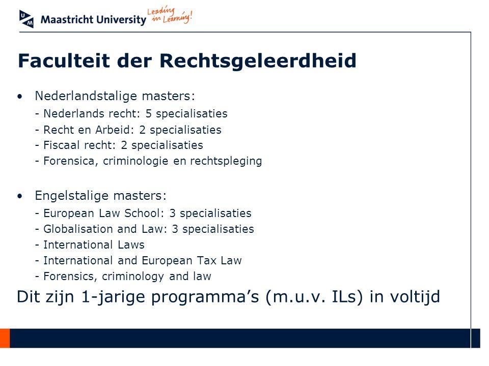 Faculteit der Rechtsgeleerdheid