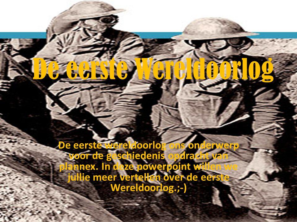 opdracht oorzaken eerste wereldoorlog