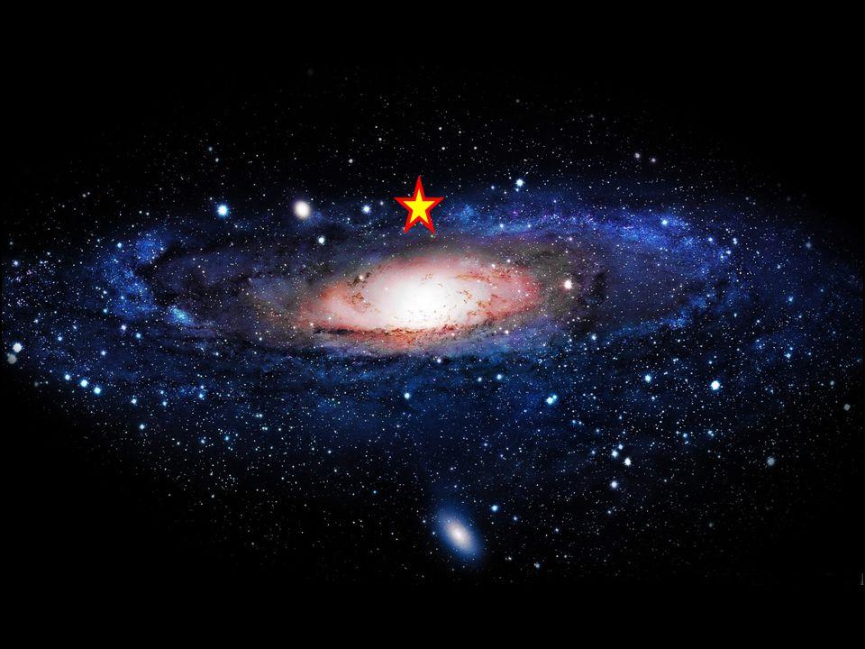 Zo'n sterrenstelsel: Gravitatie zorgt er voor dat het er is.