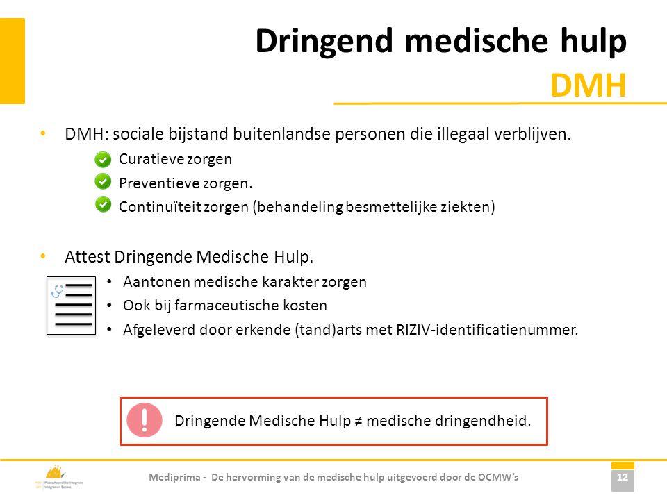 Dringend medische hulp DMH