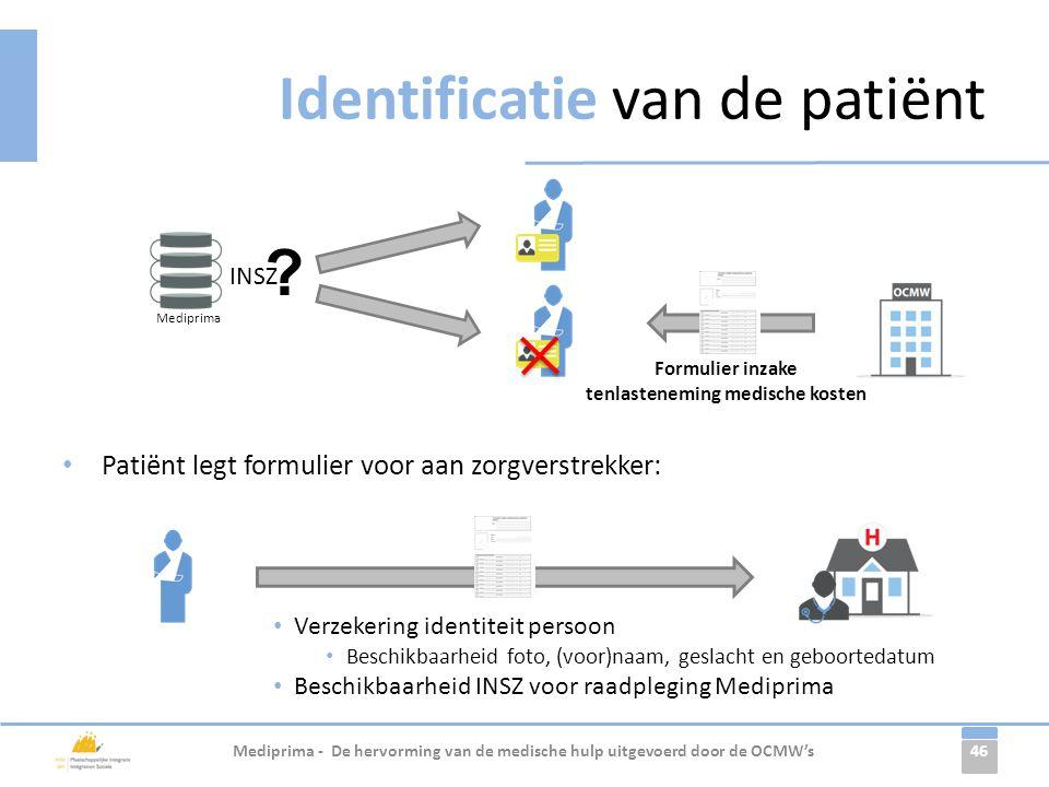 Identificatie van de patiënt