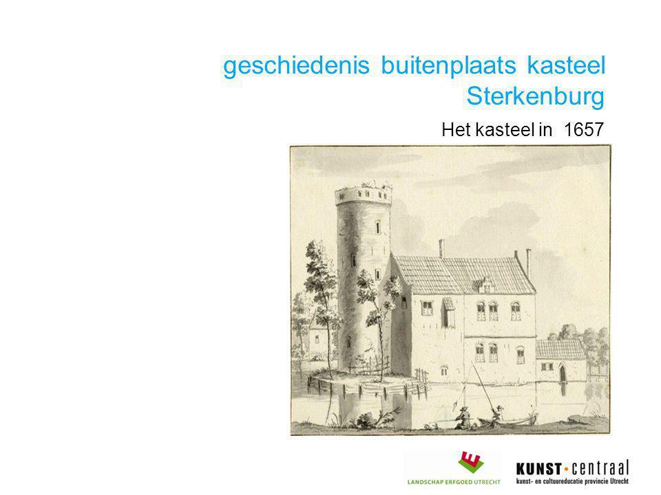 geschiedenis buitenplaats kasteel Sterkenburg