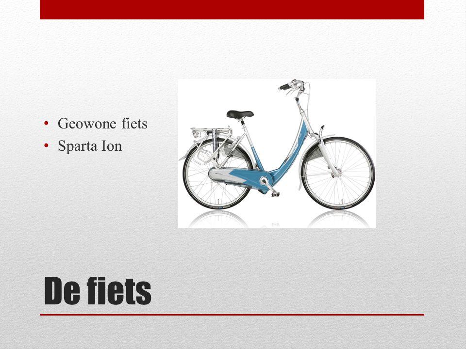 Geowone fiets Sparta Ion De fiets