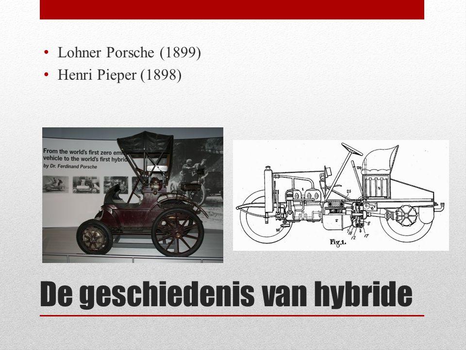 De geschiedenis van hybride