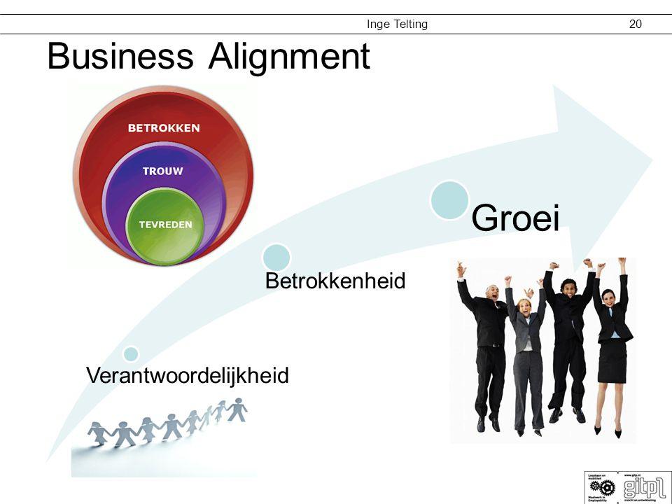 Business Alignment Verantwoordelijkheid Betrokkenheid Groei