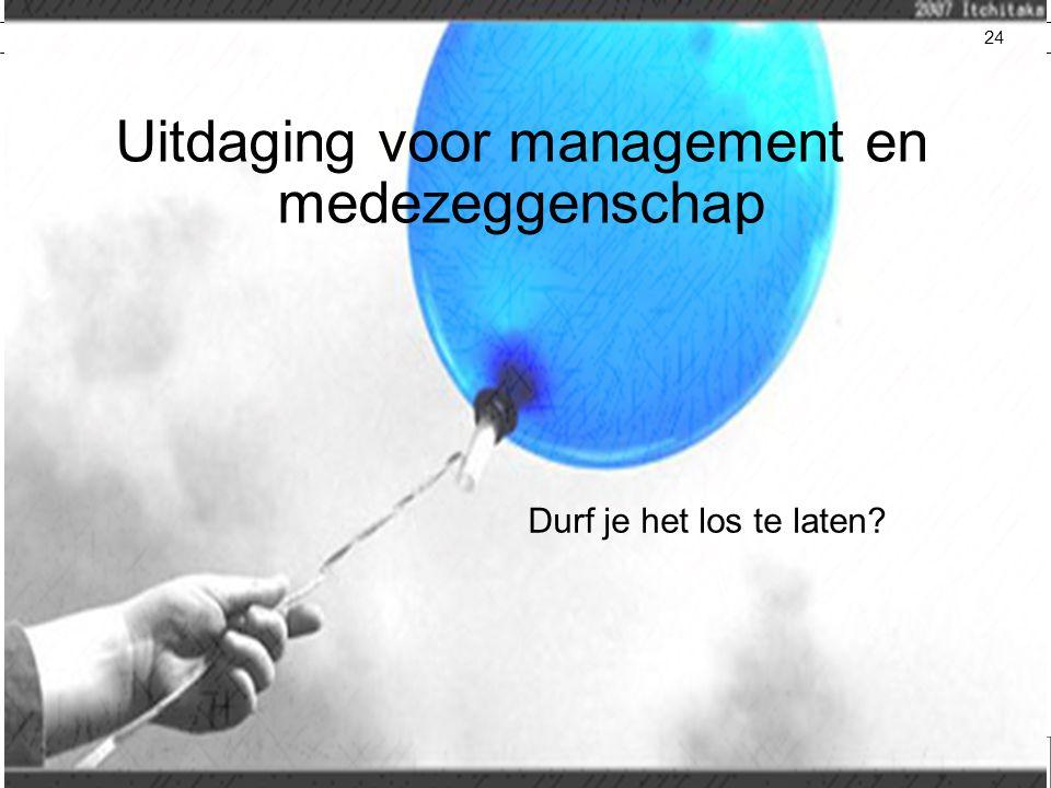 Uitdaging voor management en medezeggenschap