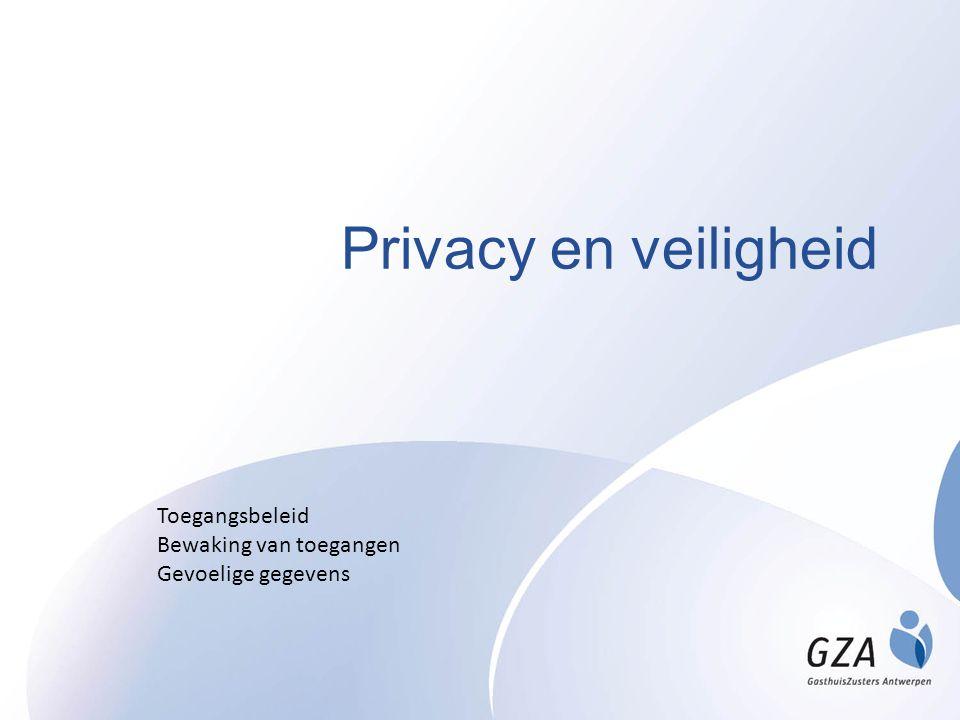 Privacy en veiligheid Toegangsbeleid Bewaking van toegangen