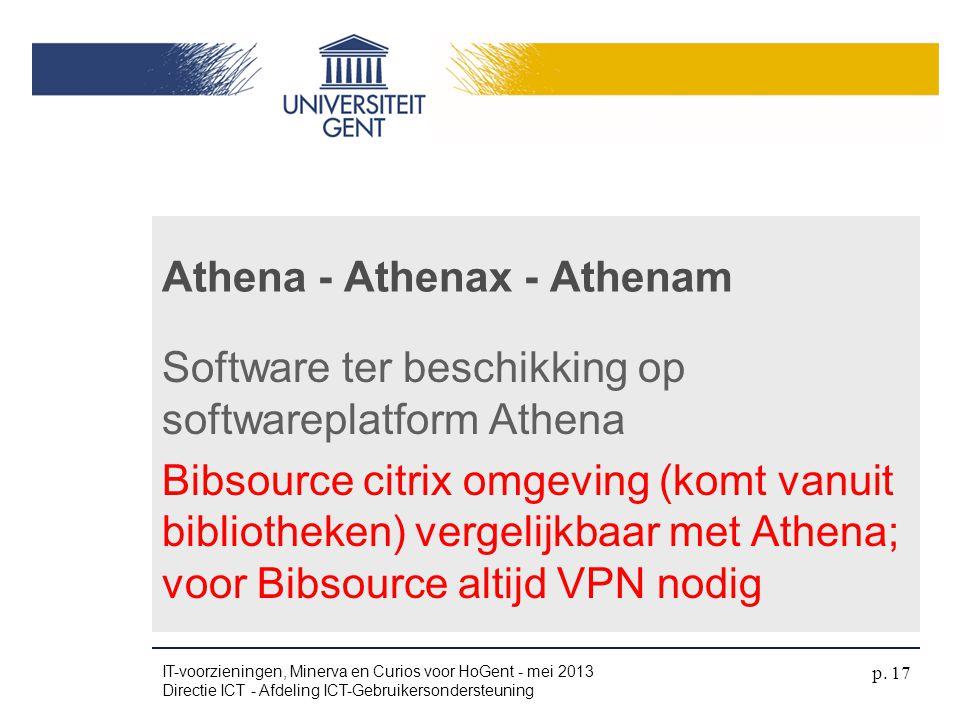 Athena - Athenax - Athenam
